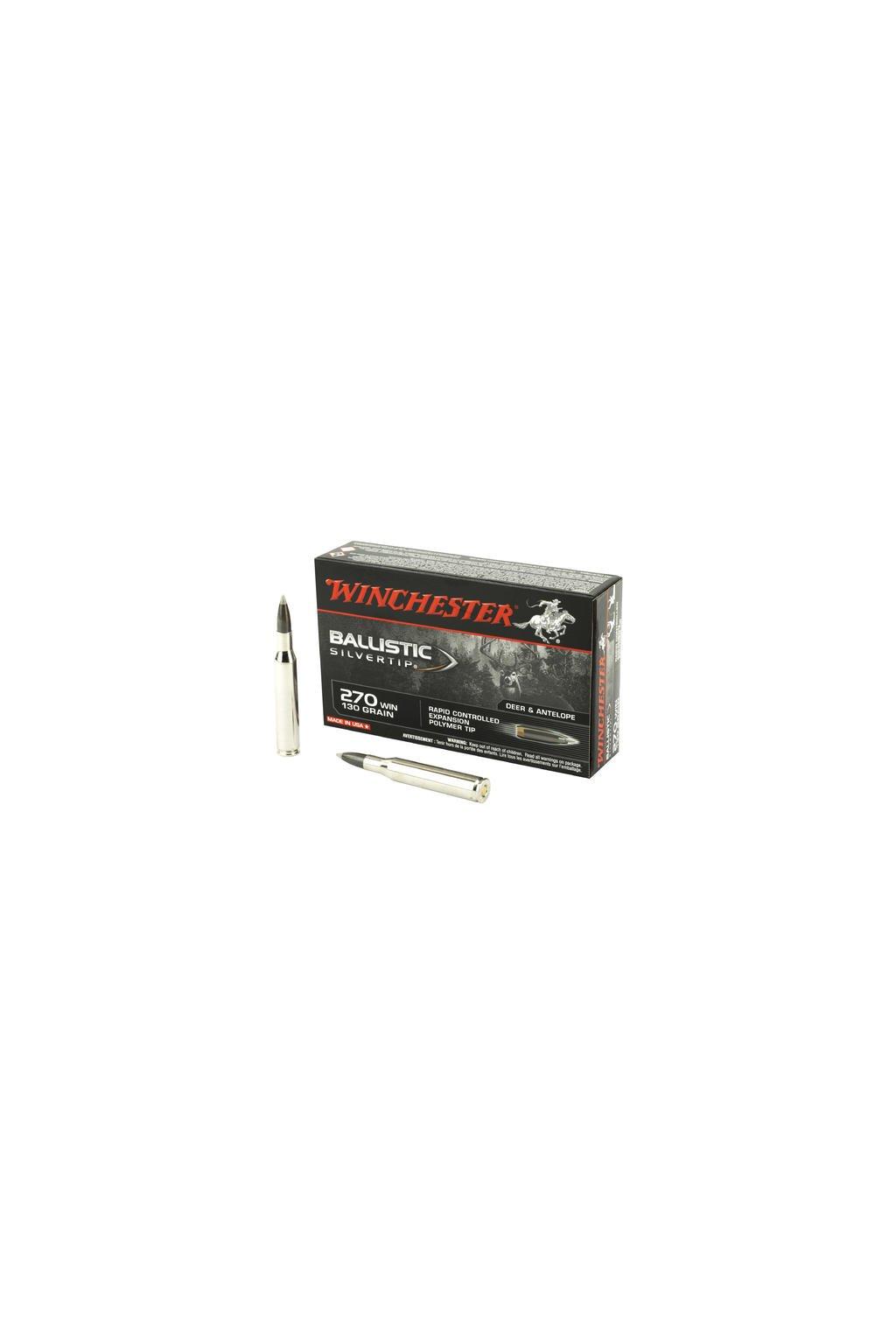 Winchester Ballistic Silvertip 270Win 130gr