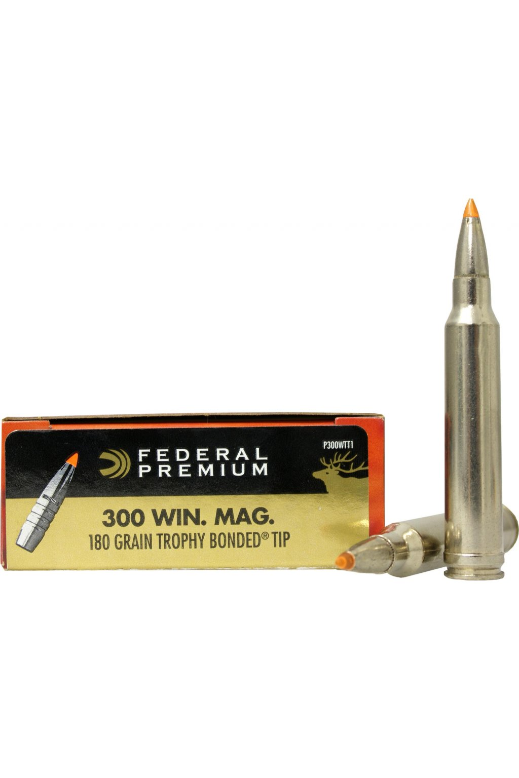 Federal Premium 300 Win Mag 11 66g 180grs Federal Trophy Bonded Tip 0