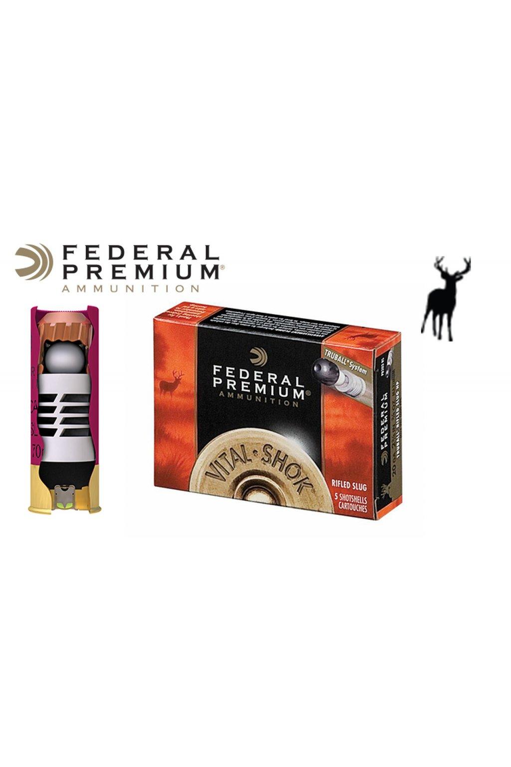 Federal Premium VitalShok TruBall Slugs Generic 54687.1540657319