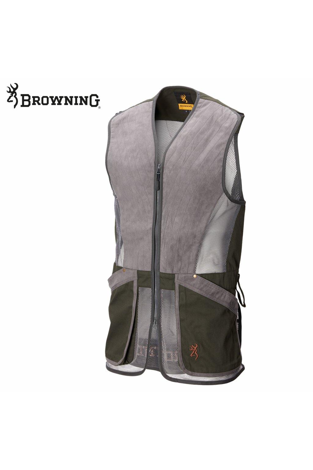 Browning vesta střelecká  Pro Sport šedo zelená