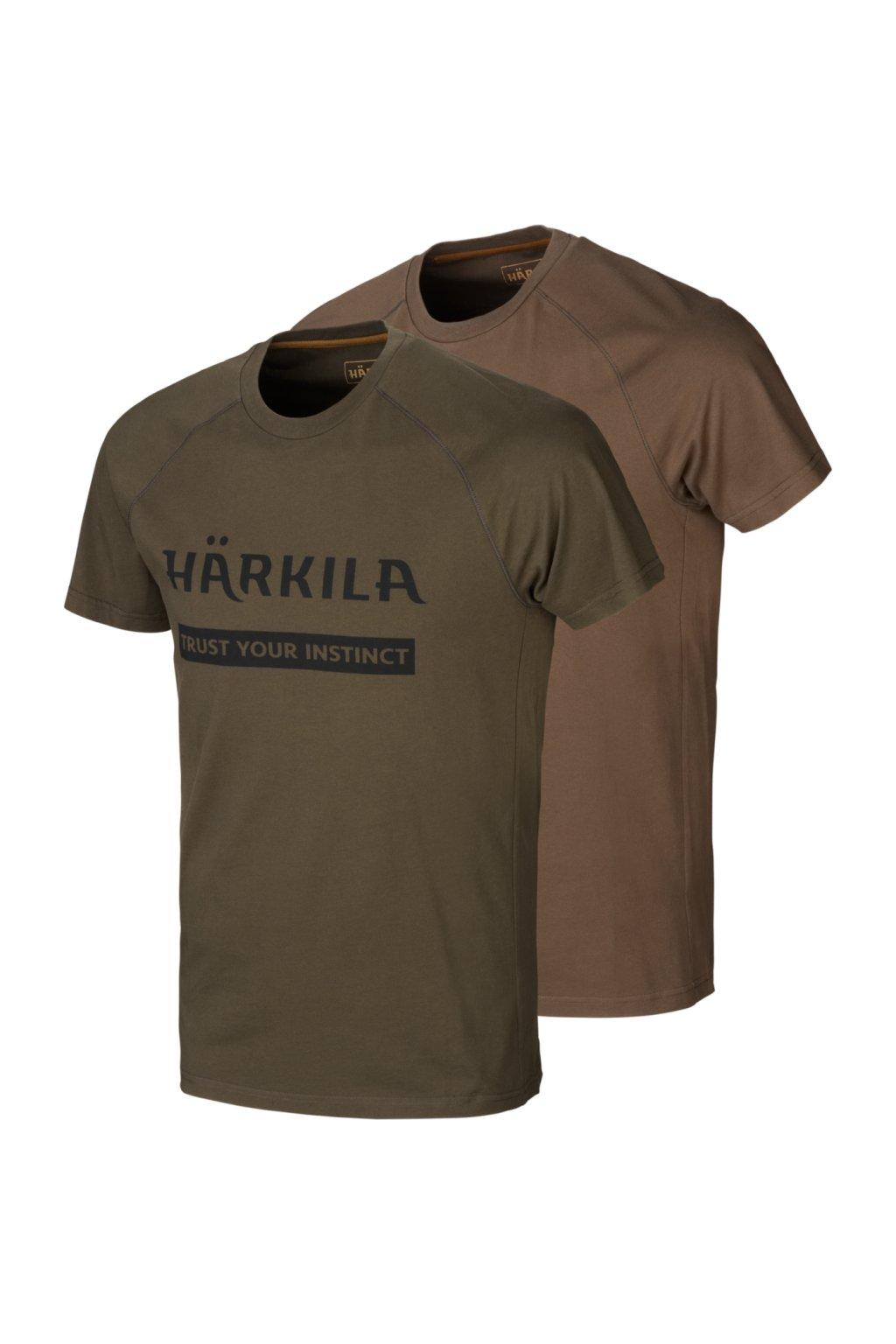 HÄRKILA - 2pack LOGO tričko pánské