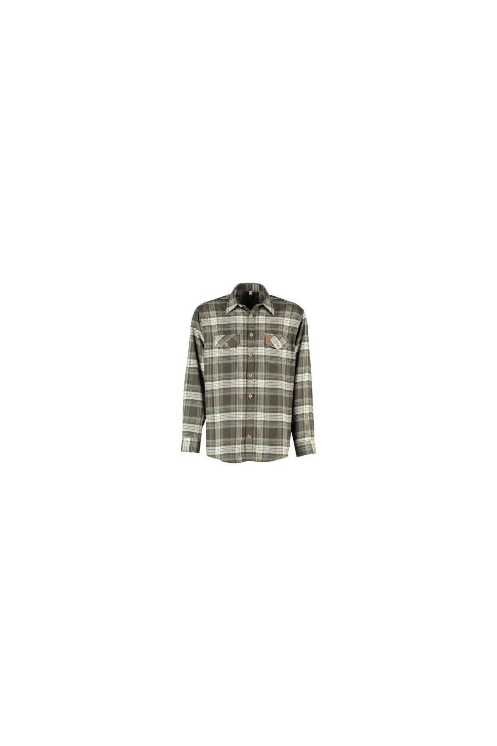 Orbis - flanelová košile zelená (3278)