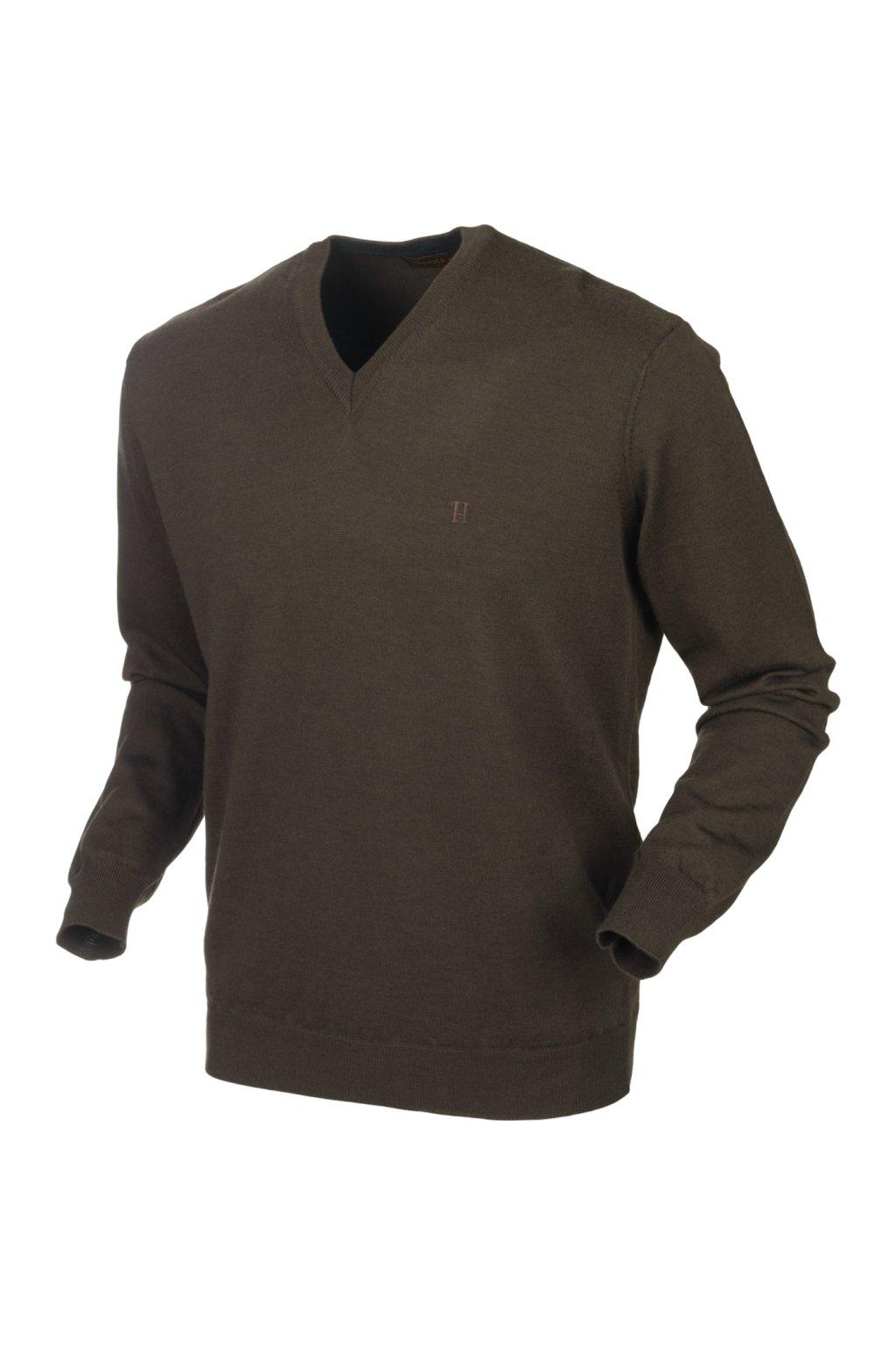HÄRKILA  - Glenmore pullover Demitasse brown