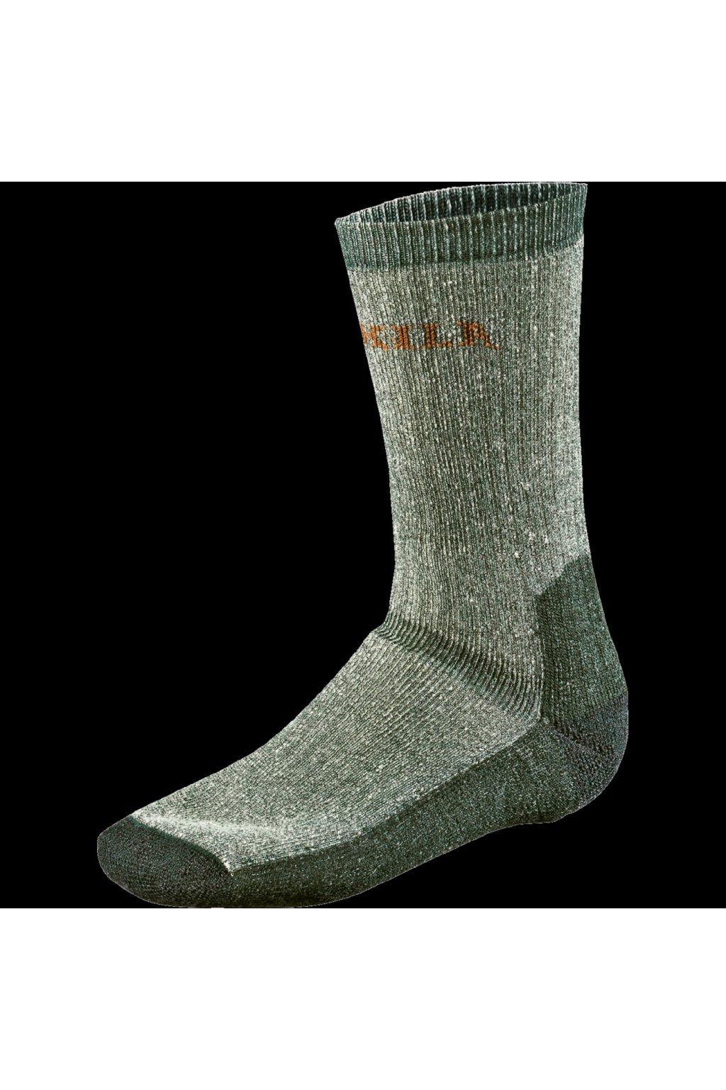 HÄRKILA - Expedition ponožky MERINO pánské zelené