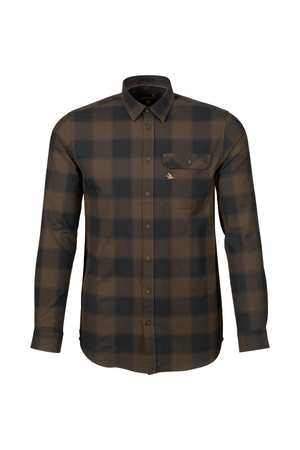 Seeland - Highseat košile pánská hnědá
