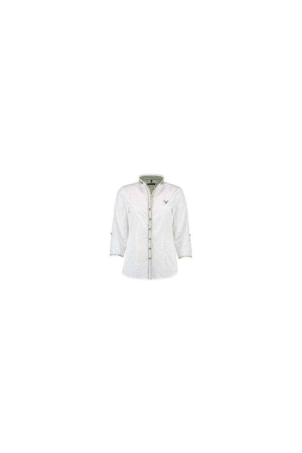 ORBIS - halenka dámská bílá se stojáčkem (2683)