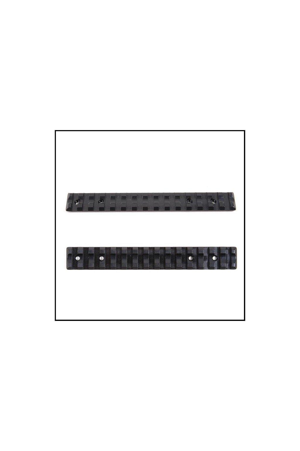 picatinny rail t3t3x ocel