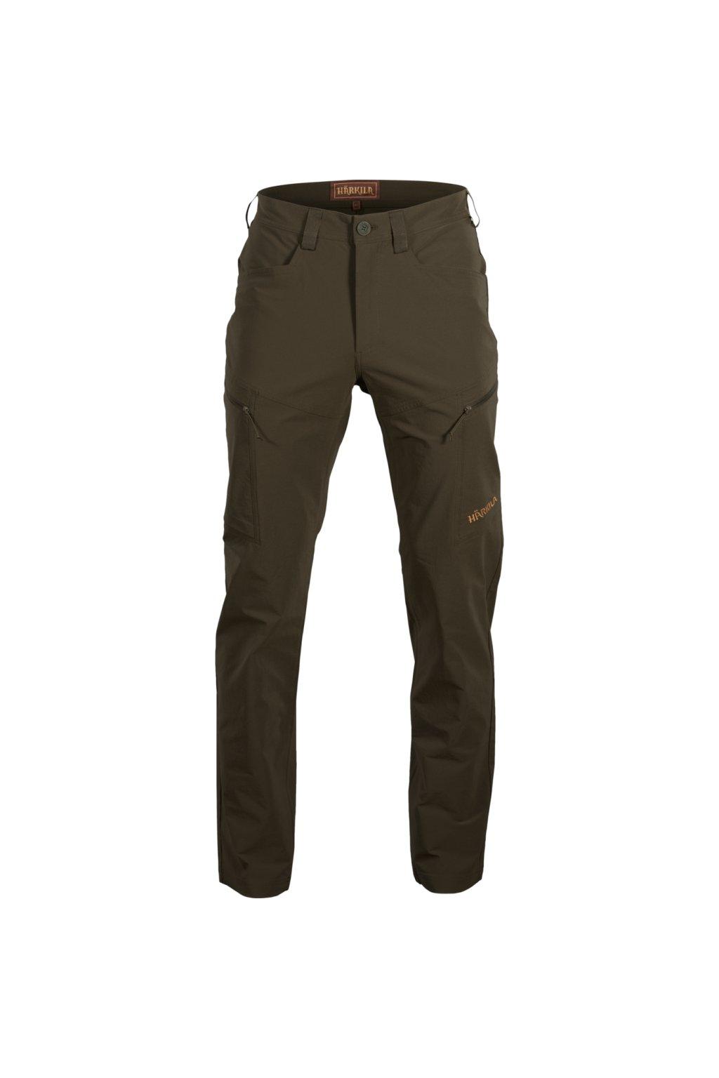 HÄRKILA - Trail kalhoty letní pánské (willow green)insectproof