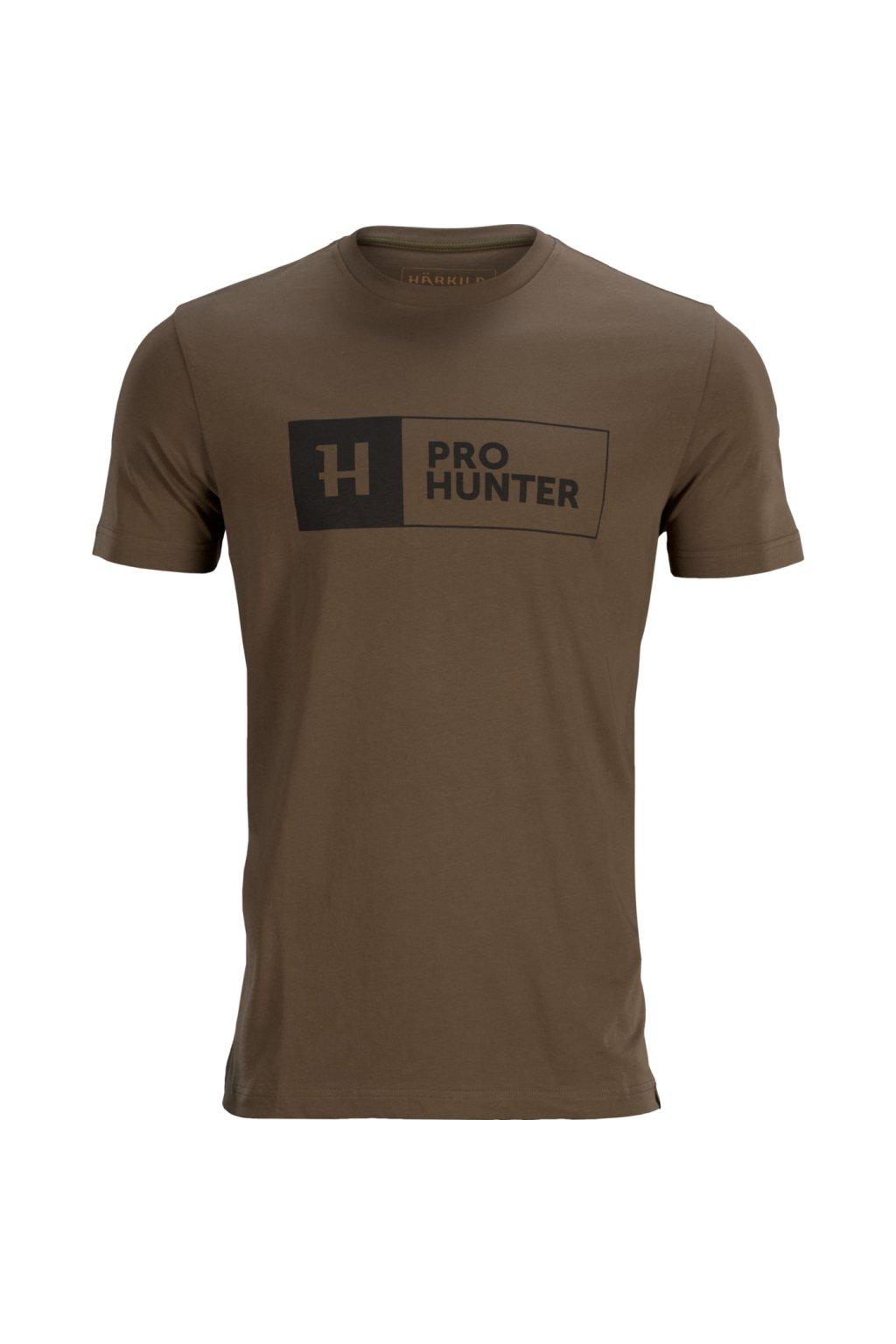 Härkila - Pro Hunter triko pánské s krátkým rukávem (State Brown)