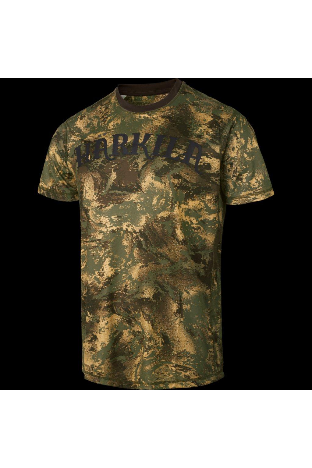 HÄRKILA - Lynx tričko pánské s krátkým rukávem AXIM MSP Forest green