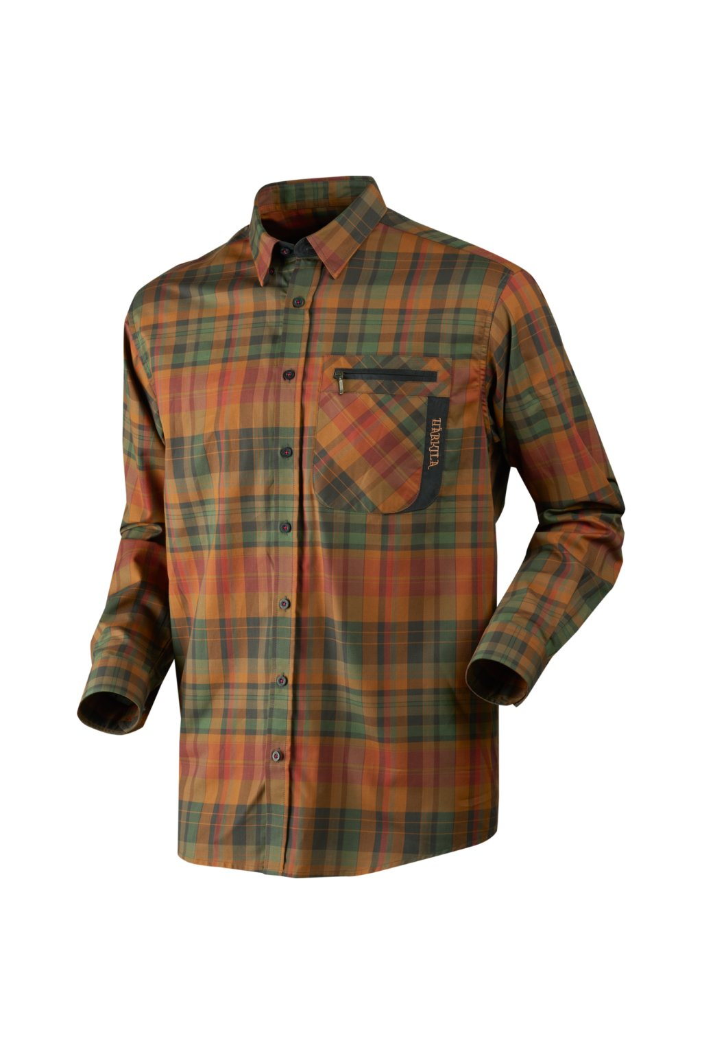 Härkila - Newton košile s dl. rukávem (Spice check)