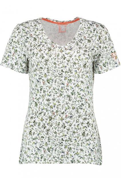 ORBIS - triko dámské kvítkované