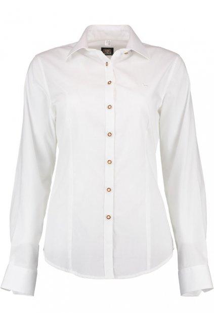 Košile dámská bílá klasik 3450