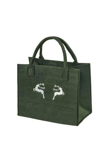 felt shopper stags