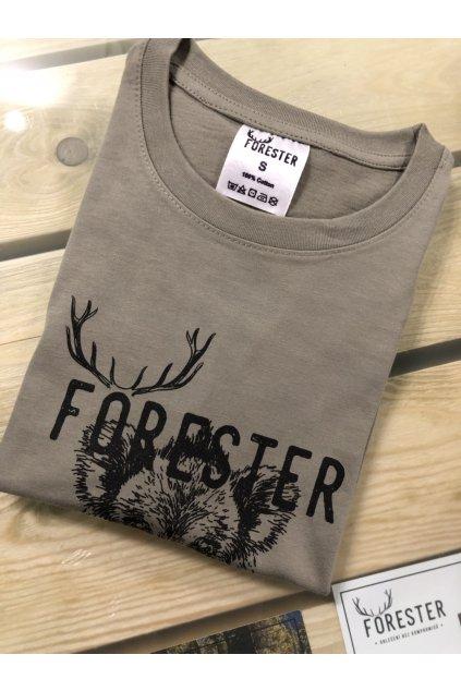 FORESTER - tričko dámské zel. divočák