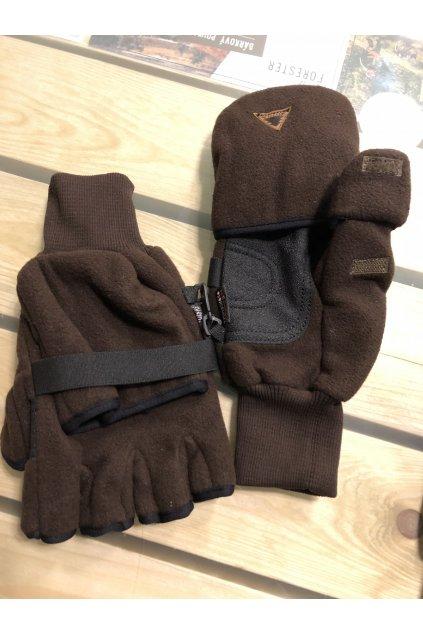 SKOGEN - rukavice zimní s překlopem