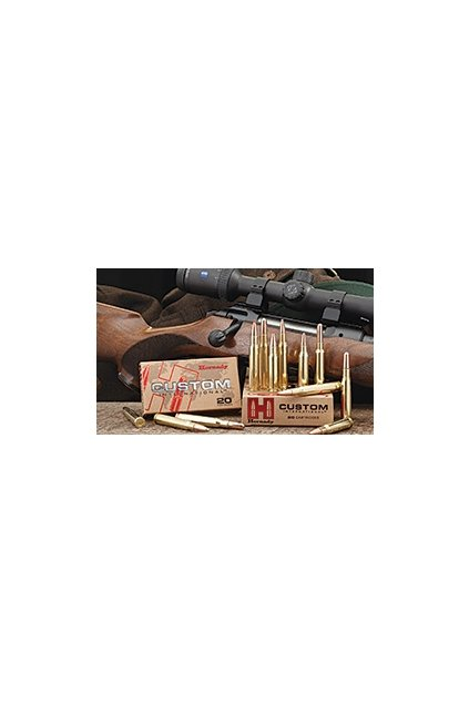 naboj kulovy hornady custom international 8x57js 195gr sp