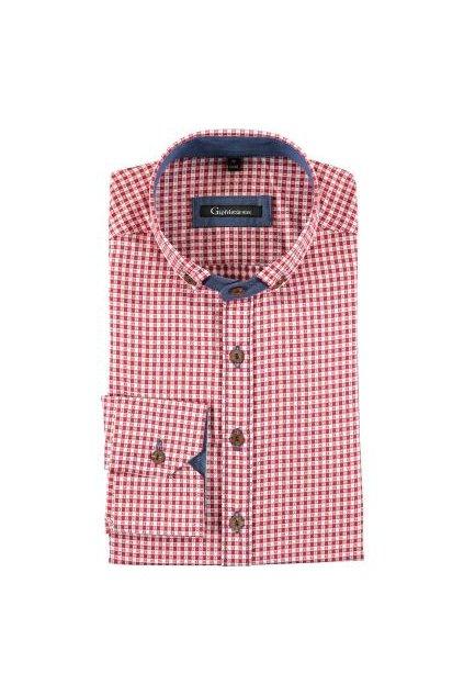 Košile pánská červená (3752)