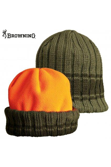BROWNING - čepice zimní oboustranná