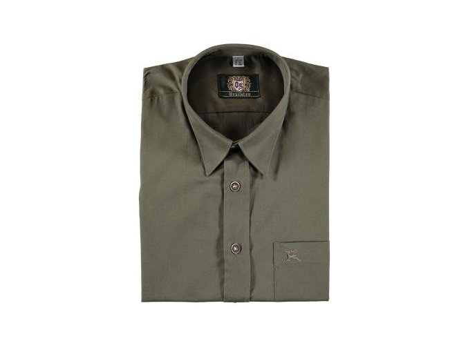 Orbis - košile pánská klasika zelená