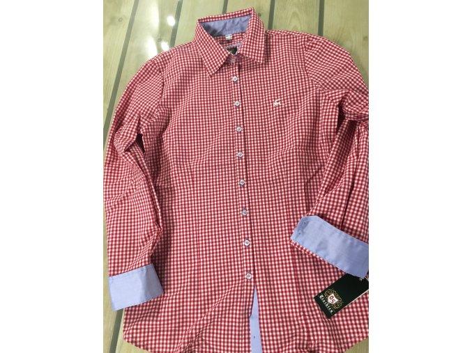 Košile dámská červená