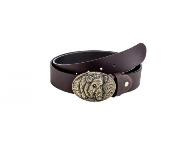 leather belt wild boar