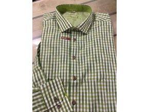 Košile pánská Slim Fit gift green