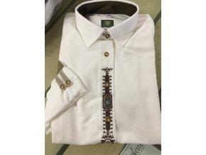 ORBIS - košile Protěž dámská bílá zdobená