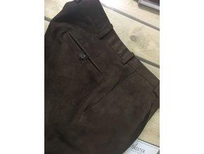 Kalhoty společenské - hnědé