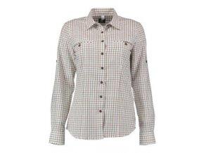 ORBIS - košile dámská zkracovací rukáv bílá kostička
