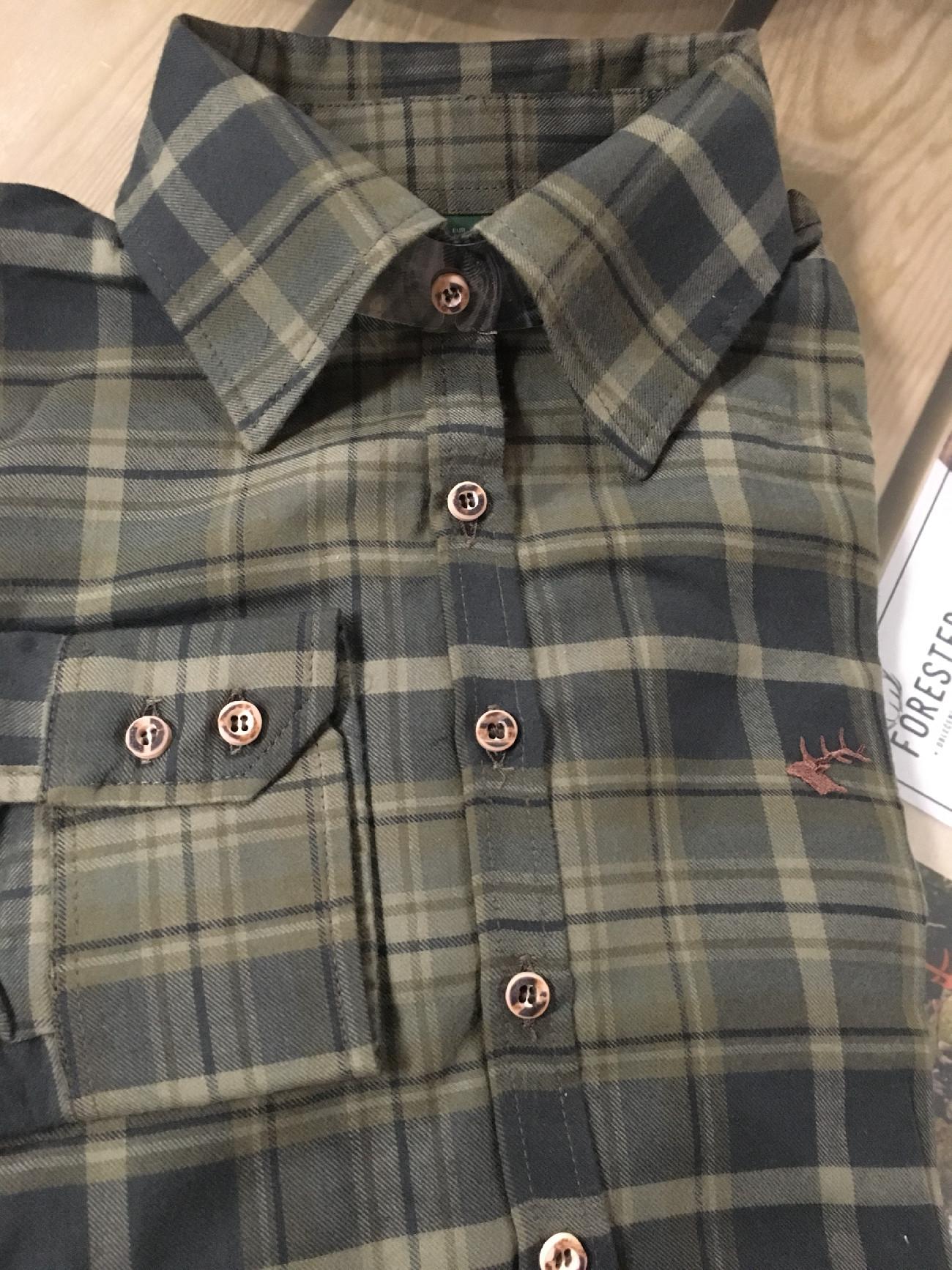Orbis Dámská košile - flanel tm.zelená (57) Velikost  36 ea1e8562ab