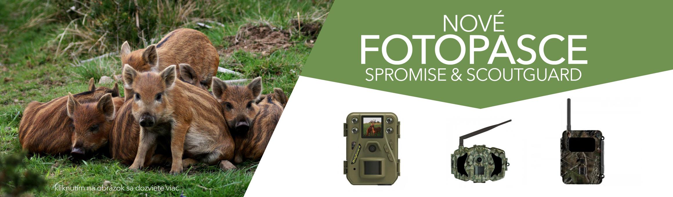 Nové fotopasce od výrobcov SPROMISE & SCOUTGUARD už v predaji!