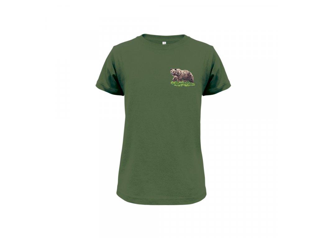 2d978dccb6 03 Detské tričko - Medveď - Forestshop.sk