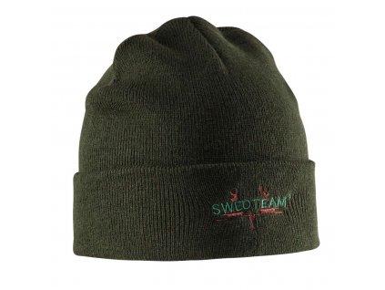 Poľovnícka Pletená čiapka SWEDTEAM - zelená