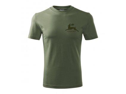 Poľovnícke tričko FOREST khaki