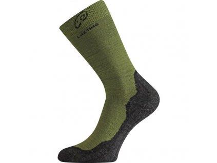 whi 699 zelene vlnene ponozky
