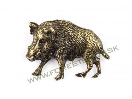 Poľovnícky-odznak-diviak-ľavý