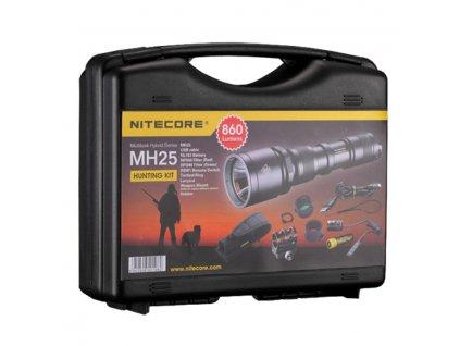08 Svietidlo MH25 Hunting set Nitecore