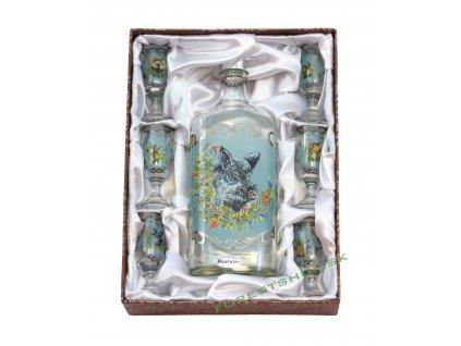 Jagerglass mala flaska + liker stopka 60384 ok