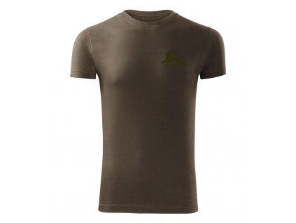 Poľovnícke tričko FOREST army