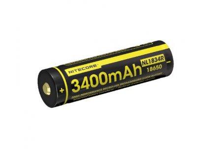 18650 Li ion akumulátor 3400 mAh s Micro USB nabíjaním