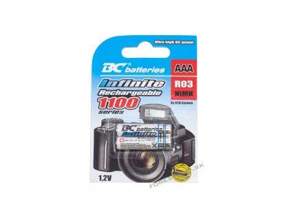 Batéria BC AAA BCR03 1100 2BP RTU Infinite akumulator 01 OK