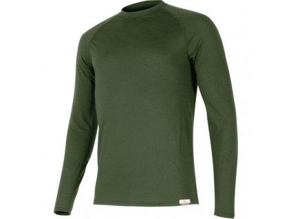 atar 6262 zelene vlnene merino triko