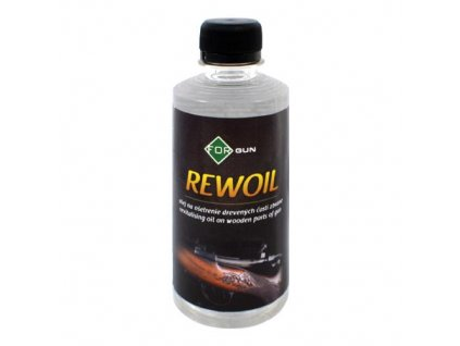 REWOIL - Ošetrujúci olej na drevené časti zbrane