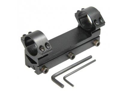 Jednodielna montáž 25,4 mm, Vysoká 001