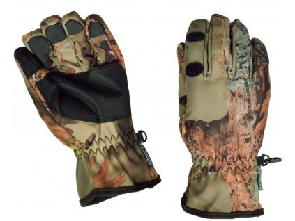 Poľovnícke rukavice Percussion Ghostcamo Forest 001