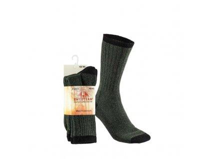 poľovnícke Ponožky Hunter 2 páry SWEDTEAM