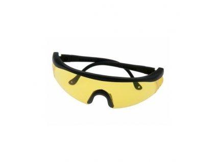 Strelecké okuliare žlté sklá