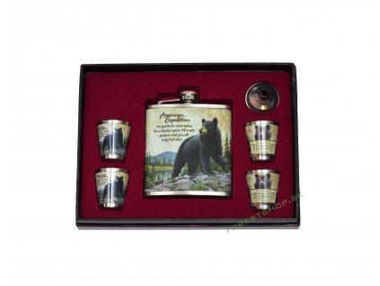 poľovnícka Ploskacka Sada 302 Medved
