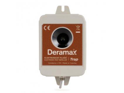 Ultrazvukovy odpudzovac lesnej zveri Deramax Trap 01